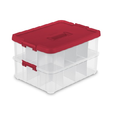 Plastic Holiday Storage Containers Christmas Storage Container