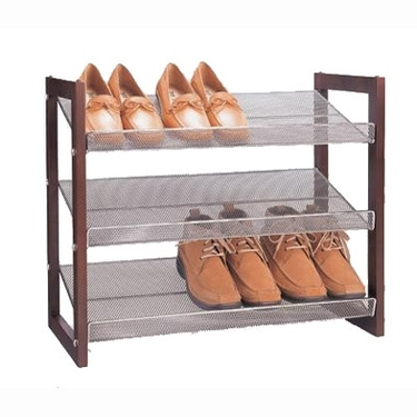 Shoe Boxes, Picture Of Stackable Shoe Storage