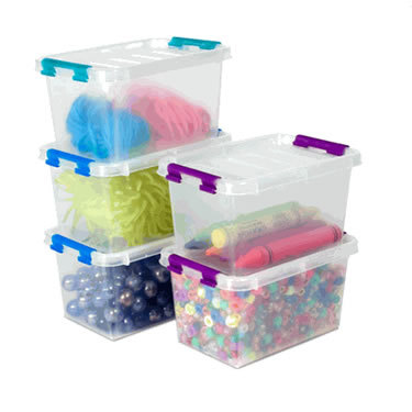File Boxes · picture of Plastic Bins u0026 Containers  sc 1 st  Space Savers & Crafts u0026 Hobby - More Storage Solutions | SpaceSavers.com