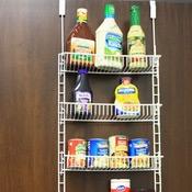 picture of pantry door organizer u0026 wall mount storage